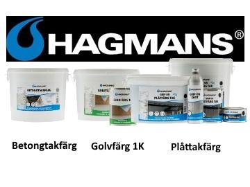 Hagmans golvfärg 1k pris